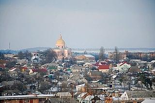 Tulchyn City in Vinnytsia Oblast, Ukraine