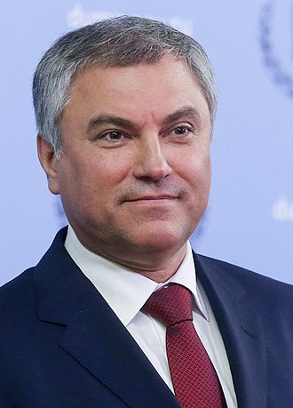 Chairman of the State Duma - Image: Володин В.В