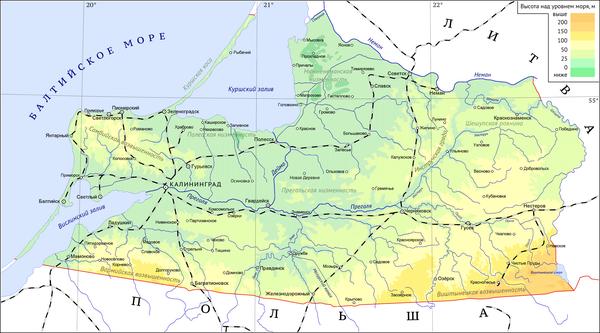 секретные объекты калининградской области