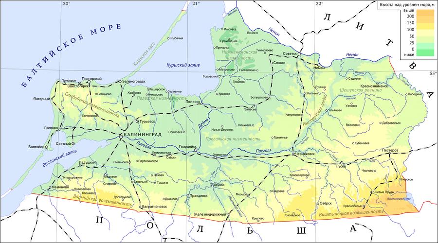 Реки и озера калининградской области доклад 7053