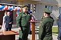Командующий ЮВО, вручает ключи от квартир офицерам, Владикавказ 2014 год.JPG