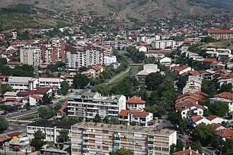 Kočani - Image: Кочани аериал