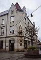 Новий Сонч (Nowy Sącz) дім з пам'ятником Ягайлу.jpg