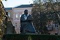 Пам'ятник Ярославу Мудрому біля Золотої брами.jpg