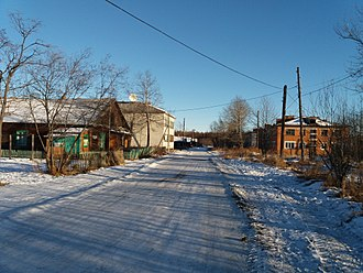 Okhotsky District - Village Aeroport, Okhotsky District