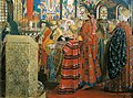 Русские женщины XVII столетия в церкви.jpg