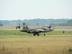 По штурмовикам Су-25 сегодня утром в Херсоне можно было сверять часы.  Ни с чем не сравнимый гул их моторов раздался...