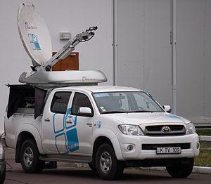 Publika TV - A Publika TV car