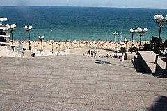 Чорноморськ. Вид на море з приморських сходів.jpg