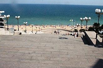Chornomorsk - Chornomorsk sea-front