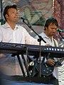 Чувелёв и Чекрыжов на концерте в Донецке 6 июня 2010 года 005.JPG