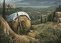 טורנדו מעל פורצ'ה, איטליה. אקריליק על עץ לבוד. 70 על 50 סמ.jpg