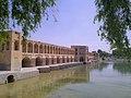 حاشیه زاینده رود در شهر تاریخی و زیبای اصفهان.jpg