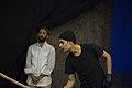 نمایش هملت در قم به کارگردانی علی علوی و گروه تئاتر گاراژ به روی صحنه رفت hamlet Garage Theater qom 09.jpg