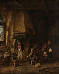 'The Skaters': Peasants in an Interior