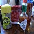キッチンコショー タバスコ 紅しょうが (3795355690).jpg