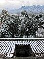 佛光寺前远眺五台山脉 Overlooking Wutai Mountains Behind Foguang Temple (21788903).jpeg