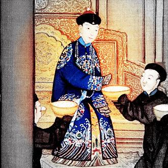 Empress Xiaoxianchun - Image: 孝贤纯皇后亲蚕图