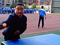 雁塔 陕师大附中分校在打乒乓球 11.jpg