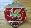 -2019-08-18¬ Enamel Leyton Orient F.C. football badge.JPG