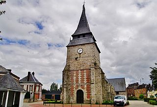 Les Grandes-Ventes Commune in Normandy, France