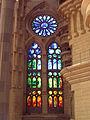 010 Sagrada Família, interior, vitrall de la nau.jpg