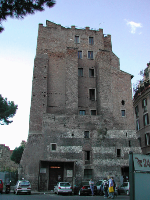 Torre dei Conti - The remaining lower portion of the Torre dei Conti
