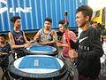 0975jfPedestrian footbridge C-11 Capulong Marcos Road Musicians Tondo Manilafvf.jpg