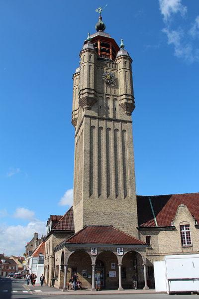 Le beffroi de Bergues (Nord, France).