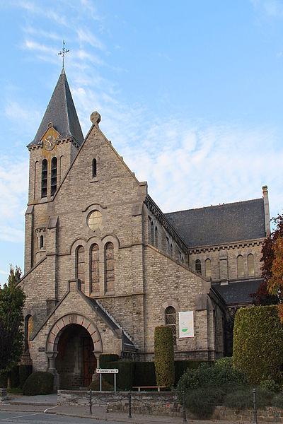Lesdain (Belgique), l'église Saint-Éleuthère.