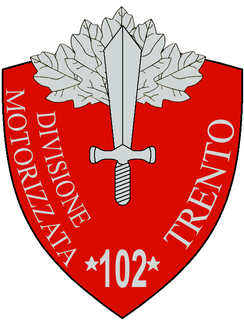 102nd Motorised Division Trento