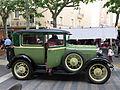 106 Fira Modernista de Terrassa, mostra de cotxes d'època a la Rambla.JPG