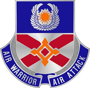 83rd Troop Command - Image: 111th Aviation Regiment Unit Crest
