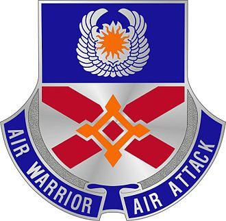83rd Troop Command - Image: 111th Aviation Regiment Unit Crest