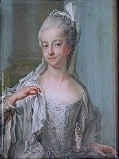 Sofia Albertina (1753-1829), prinsessa av Sverige, som vestal