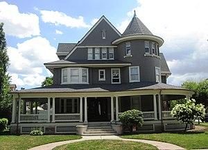 Prospect Park South - John S. Eakins House (1905) at 1306 Albemarle Road