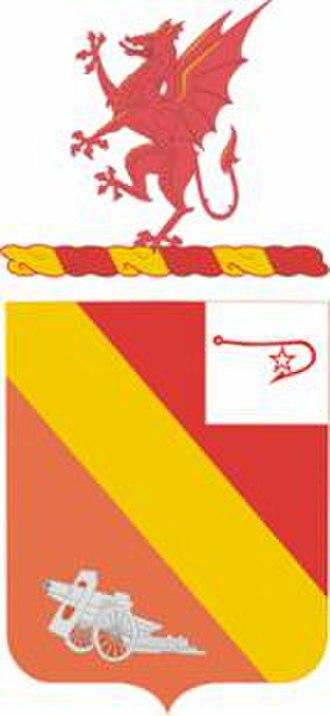 13th Field Artillery Regiment - Coat of arms