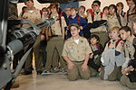 13th Expeditionary Sustainment Command, 181 Chemical Company host Boy Scouts DVIDS145794.jpg