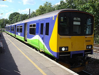 Gospel Oak to Barking line - A diesel Class 150 at Gospel Oak