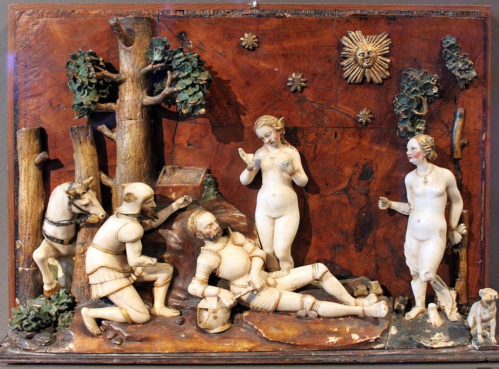 Le jugement de Paris au musée Bode à Berlin (1540). Photo d'Anagoria.
