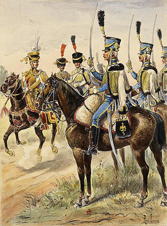 5th Hussar Regiment (France) - 5th Hussar in 1808.