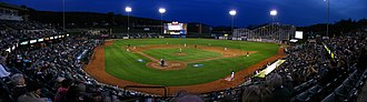 Peoples Natural Gas Field - Image: 1847 1851 Altoona Blair County Ballpark
