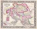 1864 Mitchell Map of Italy, Greece and the Austrian Empire - Geographicus - AustriaItaly-mitchell-1864.jpg