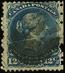 1868ca 12c Canada mute Yv24 Mi23 SG60.jpg