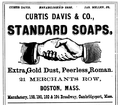 1878 Davis advert Merchants Row Boston Massachusetts.png