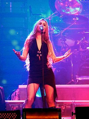 Tru Collins - Tru Collins sings with the Trans-Siberian Orchestra during the North American Winter Tour 2010.