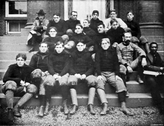 John C. B. Pendleton - 1897 Rutgers football team coached by Pendleton