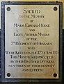 18 June 1815 – Waterloo – St Joseph's Church, Tablet Left, 14.jpg