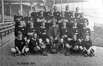 1907 New Zealand rugby union tour of Australia - The touring team