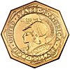 The Panama-Pacific octagonal $50 piece
